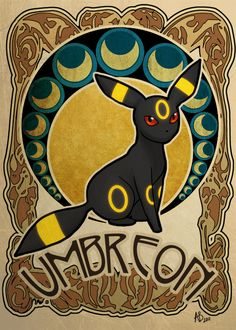 Umbreon is a close second to jolteon for my favorite eeveelution.