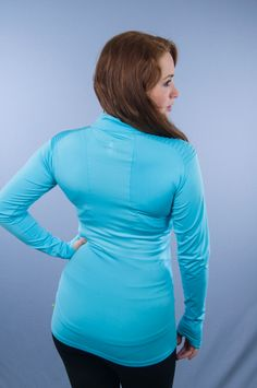 Purelime Shoulder Pleat Longsleeve Blauw - €49,95