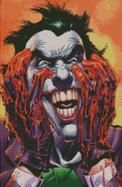 Cross Stitch Chart of the Joker with blooded hands
