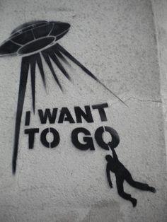 Street Art--Abduction