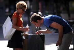 "We don't trust drinking fountains anymore, and that's bad for our health (op-ed) (via Washington Post) (8 July 2015) Outlines the decrease in public water fountains and how such a decline in ""commons"" attributes can harm us."