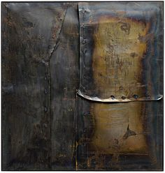 Collection Online | Alberto Burri. Grande ferro M 4 (Large Iron M 4). 1959 - Guggenheim Museum