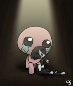 TBoI: Isaac and Guppy by Ec8er.deviantart.com on @deviantART
