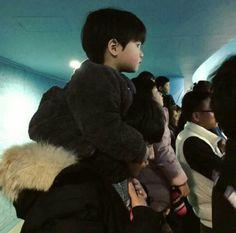 baby, ulzzang, and haru image Cute Asian Babies, Korean Babies, Asian Kids, Korean Boy, Korean Couple, Cute Babies, Couple Ulzzang, Ulzzang Kids, Dad Baby