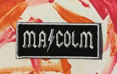 A personal favorite from my Etsy shop https://www.etsy.com/listing/573935279/acdc-patch-malcolm-young-acdc-angus