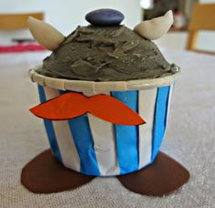 Obelix cupcake SO CUTE!!