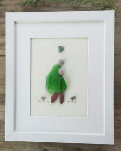 Pebble art mother doughter Doughter mother by pebbleartSmiljana