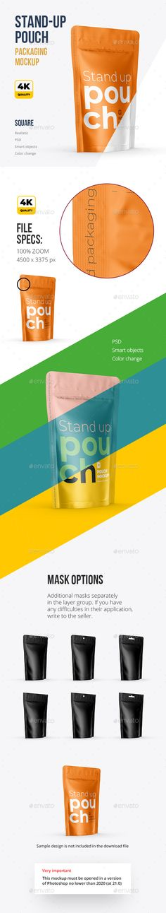 Download 31 Pouch Mockups Ideas Mockup Pouch Packaging Mockup