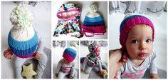 RecyDrops: Barevné večery.... Winter Hats, Crochet Hats, Hands, Crafty, Fashion, Knitting Hats, Moda, Fasion, Trendy Fashion
