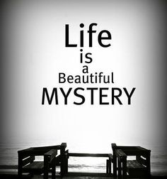 LIFE IS A BEAUTIFUL MYSTERY - ANYONE ELSE AGREE?  The other day I was out on the driveway with my 13-month old daughter and she kept trying to sprint directly into the street. And I kept having to stop her again and again and again.  And I just kept thinking of all the times in my life the door kept slamming in my face over and over again. And like my baby girl I would get so angry and shake my fists and ask God what was he thinking?! Luckily were allowed to grow wiser as we grow older and…