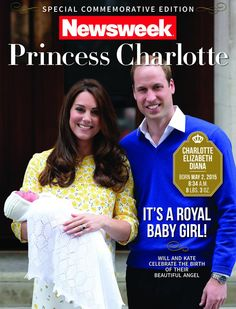 "And Newsweek has a special edition out as well, described as including ""… tales of Royal weddings, romance, pomp and ceremony, and a bonus section detailing the fashion frenzy surrounding Duchess Catherine and Prince George. It's an intimate portrait of the most-talked-about Royals in the world."" The commemorative issue is 100 pages and priced at $9.95."