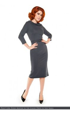 61a552fd460e7 Laura Byrnes California- Joanie Dress in Grey