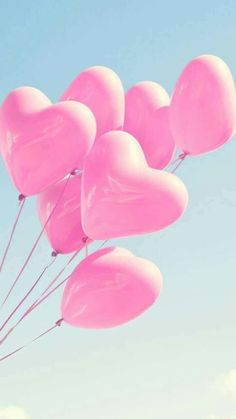 Image shared by Sony Domm. Find images and videos about pink, heart and wallpaper on We Heart It - the app to get lost in what you love. Pink Love, Cute Pink, Pretty In Pink, Pink Balloons, Heart Balloons, Wedding Balloons, Cute Wallpapers, Wallpaper Backgrounds, Pastel Pink Wallpaper Iphone