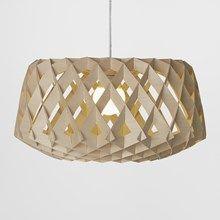 Pilke 60 pendel lampe i birk fra Showroom Finland