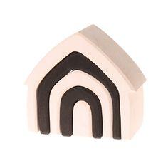Grimms Haus monochrom
