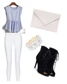 """""""Untitled #47"""" by amela-besic ❤ liked on Polyvore featuring JustFab, Charlotte Russe, 10 Crosby Derek Lam and Verali"""