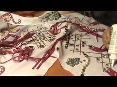 Embellishing a horse show jacket Part 4
