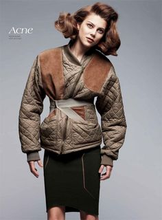 Montana Cox, Caitlin Lomax and Others Model the Fall Collections for Vogue Australia by Nicole Bentley