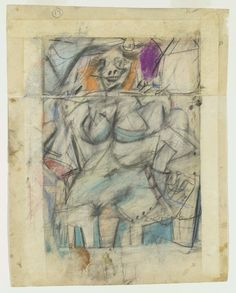 De Kooning drawing