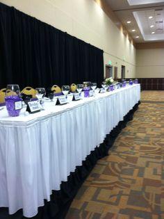 traditional #headtable #wedding #purple