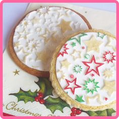 Cookie Designs - Using Katy Sue Design Mat Stars. Available from www.hostesspro.co.za