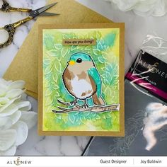 Add adorable bird-themed stamped images to your handmade cards, scrapbook layouts, journal pages, and DIY home decor projects. You will love the nature effect this stamp set brings to your crafting station. Get started in your craft room today!