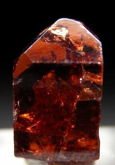 Zircon from Mashewa, Tanga Region, Tanzania  Jacinth/Amber/Zircon-Gad's stone- 11th foundational stone in new jerusalem.  rev.21:20