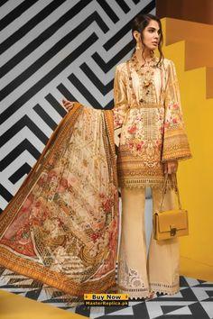 ANAYA Linen Collection Replica 2020 Pakistani Dress Design, Pakistani Dresses, Pakistani Suit With Pants, Pakistani Salwar Kameez, Pakistani Designers, Eid Dresses, Dresses Online, Little Girl Wedding Dresses, Dresses Kids Girl