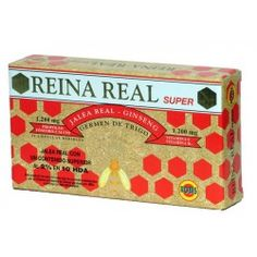 REINA REAL SUPER 20 AMP 10ML
