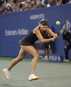 US open Us Open, Maria Sharapova, Tennis Players, Running, Nice, Sports, Hs Sports, Keep Running, Why I Run