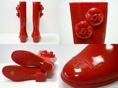 Botas de agua Chanel