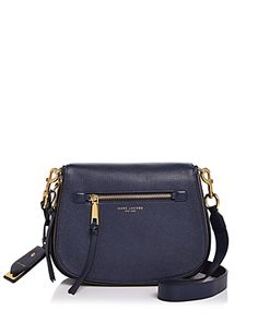 MARC JACOBS RECRUIT NOMAD LEATHER SADDLE BAG. #marcjacobs #bags #leather #