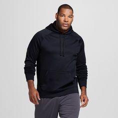 Men's Big & Tall Sizes Tech Fleece Full Zip Hoodie Orange MT - C9 Champion, Size: M Tall, Electric Orange