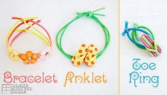 Adorable Stretch Jewelry for Little Girls | Craft Tutorial