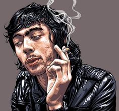 illustration portraits by Mel Marcelo