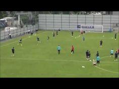 exercice de football : Appui, Soutien, Appel  sous forme analytique