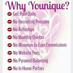 Why younique?