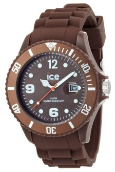 Ice-Watch Men's Chocolate Milk Brown Silicone Quartz Watch with Brown Dial Cheap Watches For Men, Affordable Watches, Luxury Watches For Men, Cool Watches, Wrist Watches, Ice Watch, Shops, Silicone Bracelets, Hand Watch