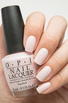 - Cute Nails Club : Neutral Nail Color For Interview through Best Natural Nail Care Tips though Nail Care Products In South Africa unlike Nail Care Gift Set upon Nail Care And Spa Westminster Md Light Pink Nail Polish, Opi Nail Polish Colors, Light Colored Nails, Grey Nail Polish, Nail Lacquer, Opi Nails, Opi Colors, Pale Pink Nails, Opi Polish