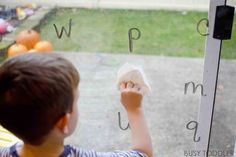 Looking for a fun way to play with the ABCs? Try this easy alphabet activity for toddlers & preschoolers learning their letters. It's a fun way to learn.