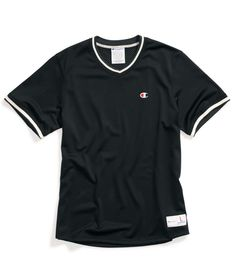 Perfect for the pitchers mound or a walk in the park. This mesh tee makes a great summer piece. #ChampionLife