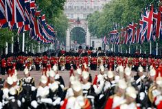 see a royal procession!
