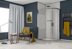 Image Showers. mid range shower doors.  shower doors . Made in Ireland Shower Doors, Shower Screens, Door Stripping, Power Shower, Chrome Handles, Safety Glass, Sliding Doors, Polished Chrome, Showers