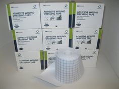 9 Rolls (boxes) of Meson dressing retention tape....fabric, cloth tape,  969