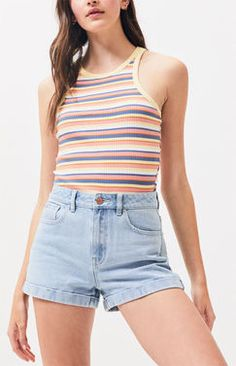 Alert Vtg American Eagle Womens Jean Shorts Carpenter Dungarees Button Fly Size 12 Hot Sale 50-70% OFF Clothing, Shoes & Accessories Shorts