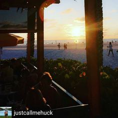 Breathtaking view of sunset on clearwater beach as seen through Frenchy's Restaurant. Located little north of pier 60 the restaurant has outdoor and indoor seating with sweeping views of the white sand beach of clearwater.  #whitesand #clearwater #clearwaterdinning #clearwaterbeach #beach #beachviewdinning #beachview #dinningwithaview #waterview #oceanview #dinningonbeach #bestbeachviews #sunset #sunsets #sunset_pics #tampabay #foodie #foodporn #foodgasm #foodgram #foodies #foodporn…