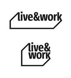 Letterhead | live&work by sminex | Логотип для компании Sminex. Валерий Голыженков. 2011 год. Typographic Logo, Typo Logo, Graphic Design Branding, Logo Branding, Logo Inspiration, Marca Personal, Corporate, Great Logos, Co Working