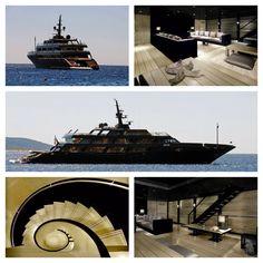 """The Main"" Giorgio Armani's Yacht"