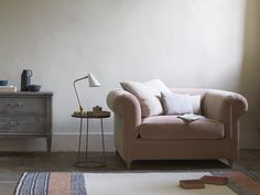 We've simplified a traditional style and upped the squidge to create a cool companion for modern day loafing. Interior Design Living Room, Living Room Decor, Living Rooms, Comfy Sofa, Sofa Frame, Curtains With Blinds, Soft Furnishings, Decoration, Interior And Exterior