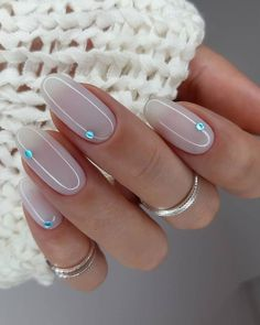 30 Wow Wedding Nail Ideas ❤ #weddingforward #wedding #bride #nailideas #weddingnails Nail Art Designs, Colorful Nail Designs, Acrylic Nail Designs, Cool Designs, Classy Nails, Simple Nails, Trendy Nails, Pink Acrylic Nails, Metallic Nails